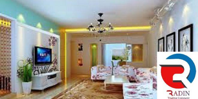 رنگ بسیار شیک و زیبا برای پذیرایی خانه